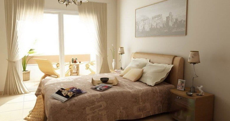 Интерьер комнаты: спальня