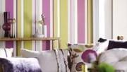 Покраска стен полосами