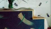 Как выполнить декоративные рисунки на стенах