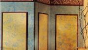 Как создать  декоративное текстурное покрытие