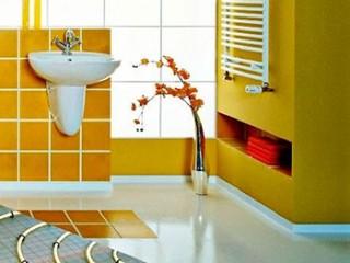 Как сделать теплый пол в ванной :выбор и монтаж