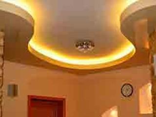 Подвесные потолки из гипсокартона своими руками