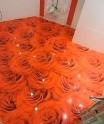 Декоративный наливной пол
