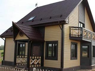 Облицовка дома с помощью сайдинга