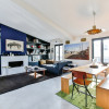 Дизайн гостиной в большом частном доме