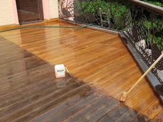 Как обновить деревянную террасу к теплому сезону