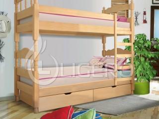 Преимущества двухъярусной кровати