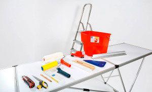 инструменты для клейки обоев
