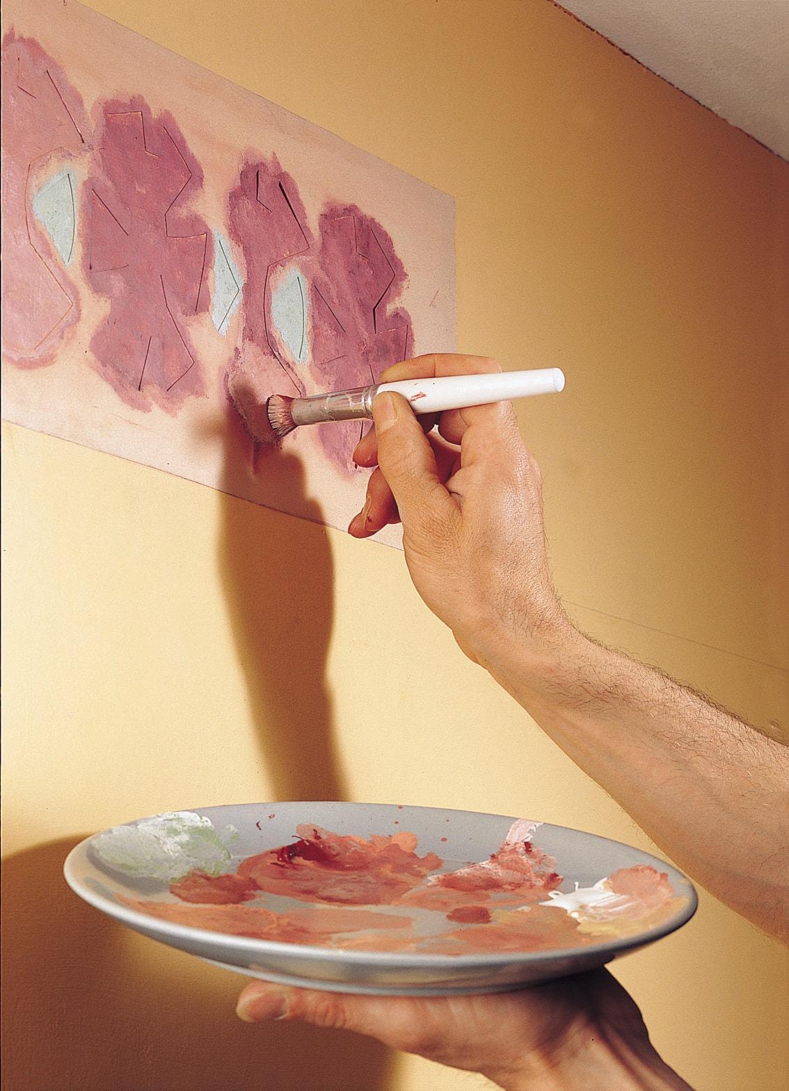Как красить картинку, открытки