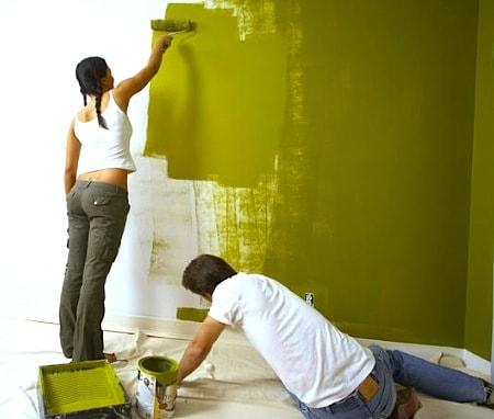 Стены под покраску своими руками