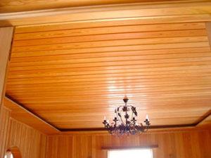 Деревенский потолок