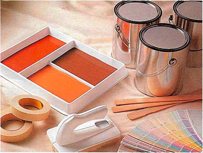 Нанесение декоративных покрытий