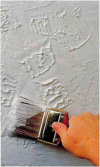 Фактурная отделка стен