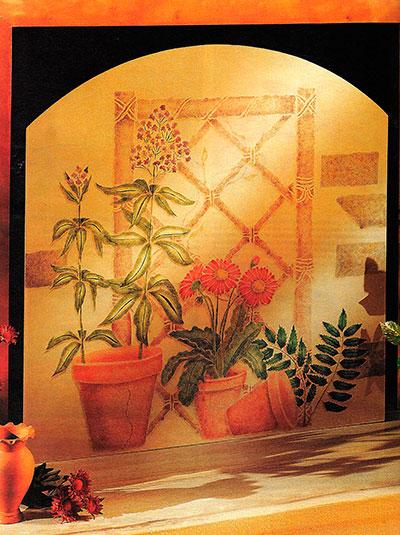 трафареты рисунков +на стену