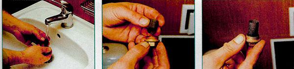 Чистка фильтра счетчика воды