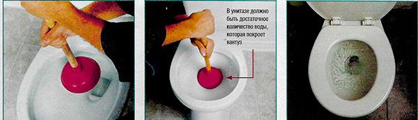 Устранение засора в раковине