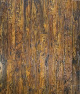 Замковая кварцвиниловая плитка, цвет Пекан Порто