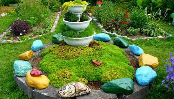 Идеи для сада своими руками фото