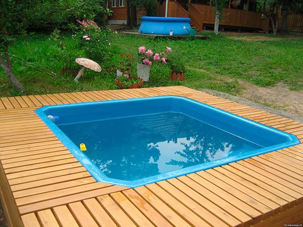 Как сделать бассейн своими руками