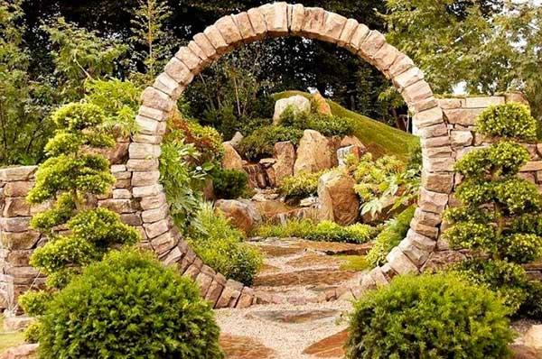Садовая арка, лучшие идеи садовых арок