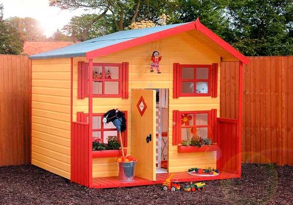 Детский домик своими руками фото