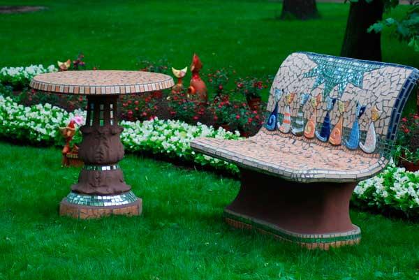 Садовая мебель своими руками фото