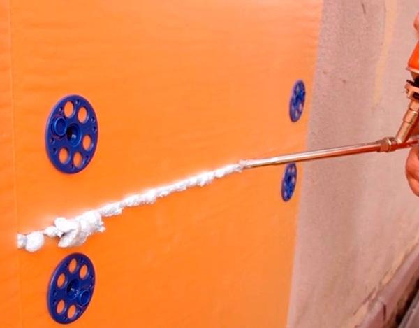 Утепление стен пеноплексомтехнология изнутри