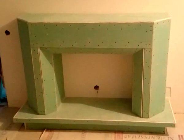 Декоративный камин своими руками пошаговая инструкция