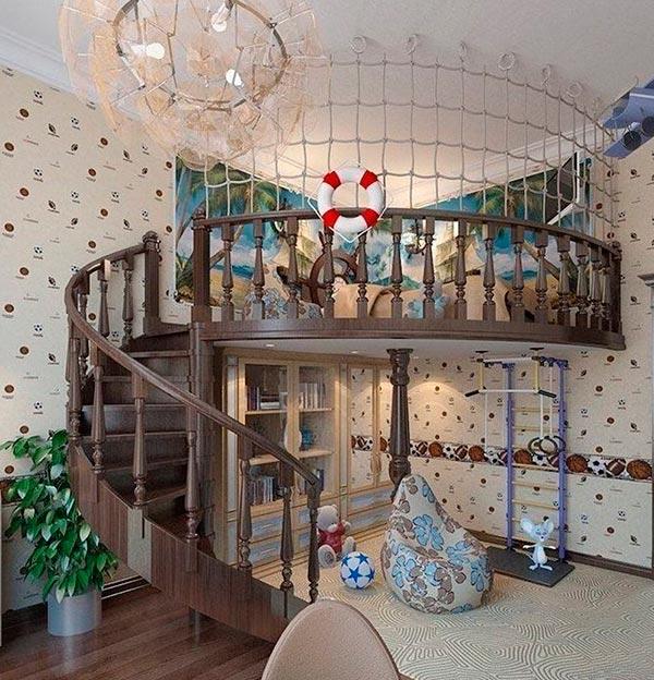 Дизайн детской комнаты : фото