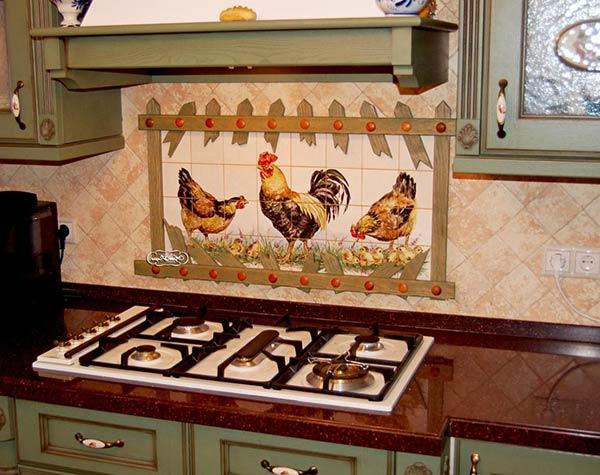 Ручная работа в интерьере кухни