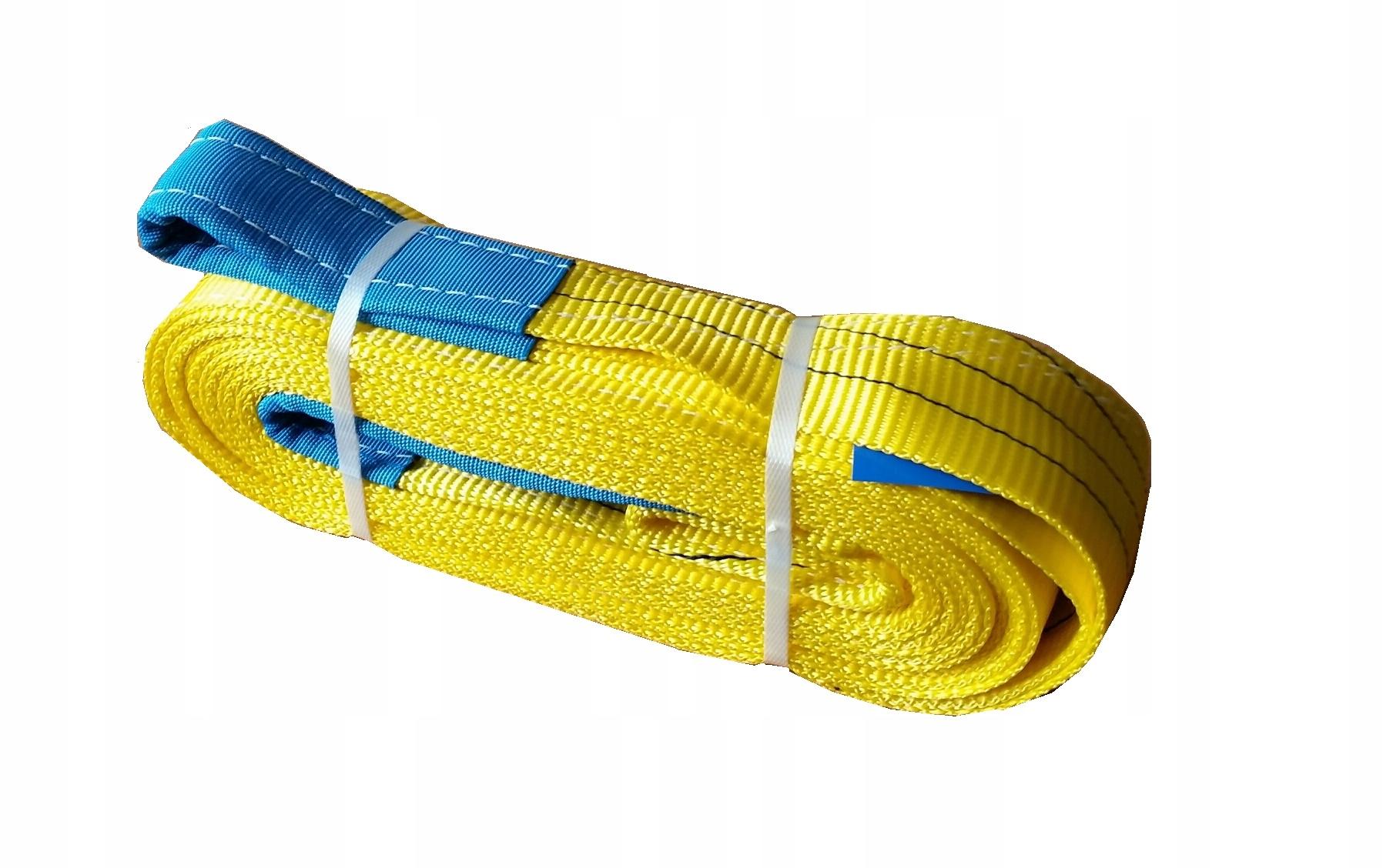 Для чего нужны текстильные стропы?