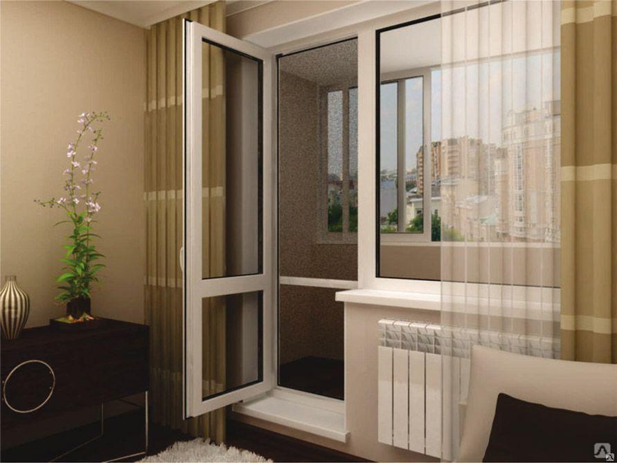 Пластиковые двери для балкона: преимущества.
